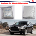 Full Car Cover Sun Shield UV Anti Snow Rain Sun Resistant Protection Cover For Mitsubishi Outlander