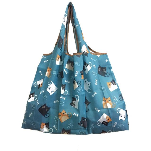 Foldable Reusable Shopping Tote Bag 3