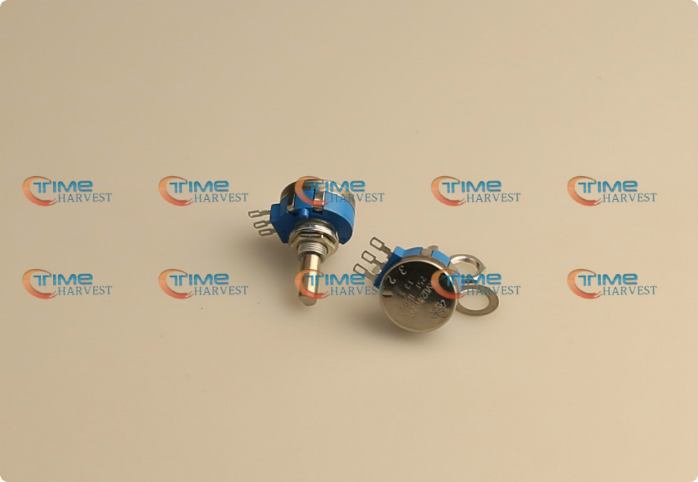 3pcs Top quality 5K potentiometer 3 pins terminals connector for arcade racing game cabinet amusement game