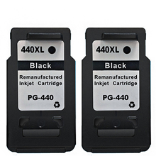 2PK Real Compatible Ink Cartridge For Canon PG 440 PG-440 PG440 Rushed Promotion MG4240 MG4140 MG3540 MG3240 Laser Printer New