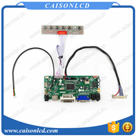 NT68676 LCD controller board support HDMI DVI VGA AUDIO for LCD panel 15.6 inch 1366X768 with led driver board LCD panel repair