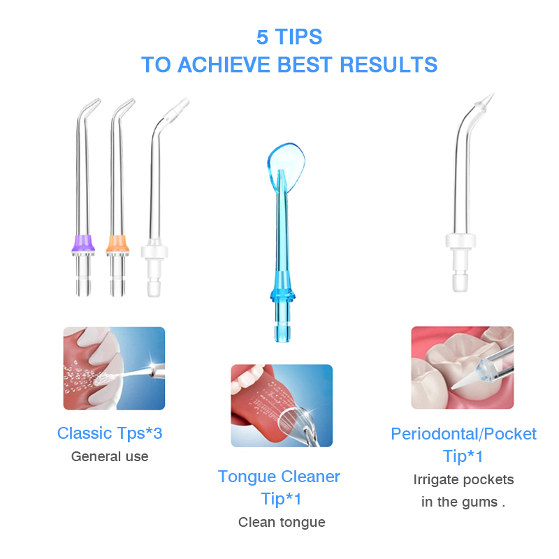 Image 5 - Dental Flosser Oral Irrigator Water Flosser Irrigator Dental Floss Water Floss Dental Water Floss Pick Oral Irrigation-in Oral Irrigators from Home Appliances