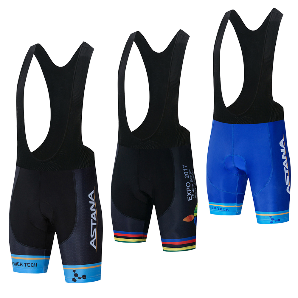 New 2019 ASTANA Team Pro Cycling Jersey 9D Gel Pad Bike Shorts Set Men Ropa Ciclismo Bicycling Maillot Culotte Clothing