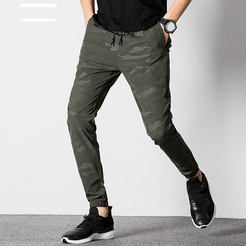 1 Pcs Lose Taille Füße Casual Hosen Camouflage Männer Hosen Männer Hosen
