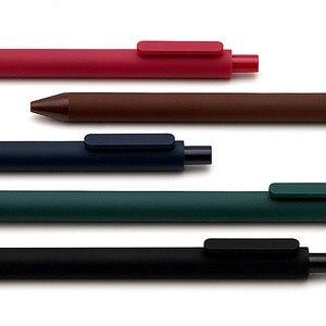 Image 5 - 5 unidades/pacote youpin kaco 0.5mm assinar caneta de assinatura caneta de tinta lisa escrevendo durável assinando 5 cores para estudante escola/escritório trabalhador