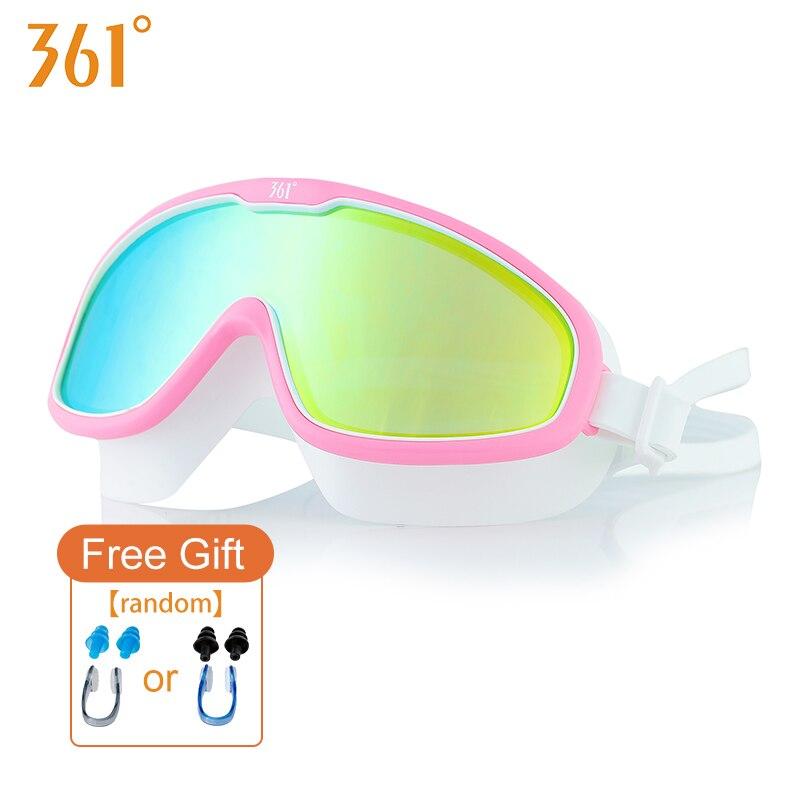 fd6446afee31 Large Frame Man Swimming Goggles HD Waterproof Anti Fog Glasses Adult  Professional Pools Swimming Glasses Women Swiming Goggles