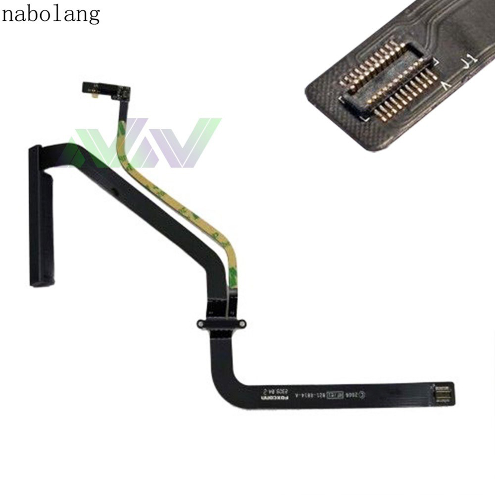 HDD Hard Drive Flex Cable Connector for Apple Macbook Pro A1278 821-0814-A 2009 a1278 cd rom connector for apple macbook pro a1278 cd dvd driver connector 2011 2012