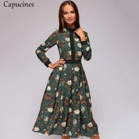 Воздушное цветочное платье