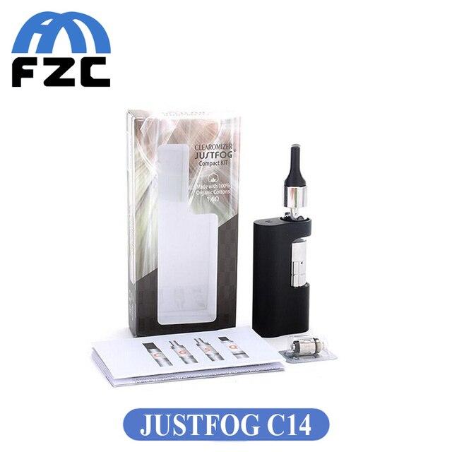 Оригинал JUSTFOG C14 Компактный Комплект 1.8 мл Защита От Утечки Бак с 900 мАч Батареи Электронная Сигарета Starter Kit