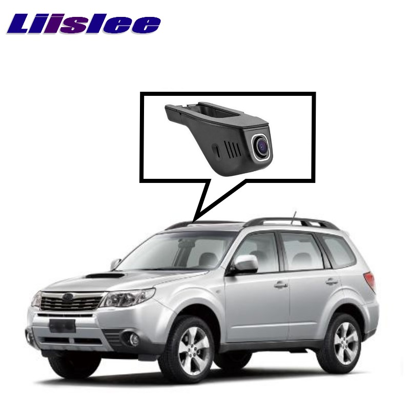 LiisLee Car Black Box WiFi DVR Dash Camera Driving Video Recorder For SUBARU Forester SJ 2014~2017 for vw eos car driving video recorder dvr mini control app wifi camera black box registrator dash cam original style