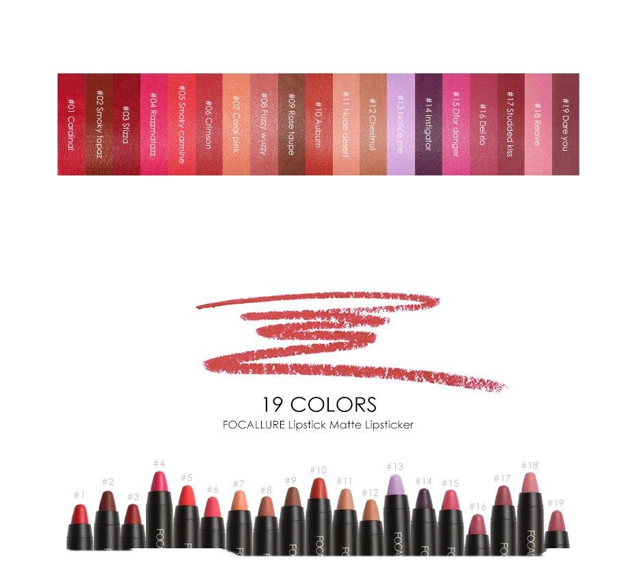 FOCALLURE Matte lipstick (4)