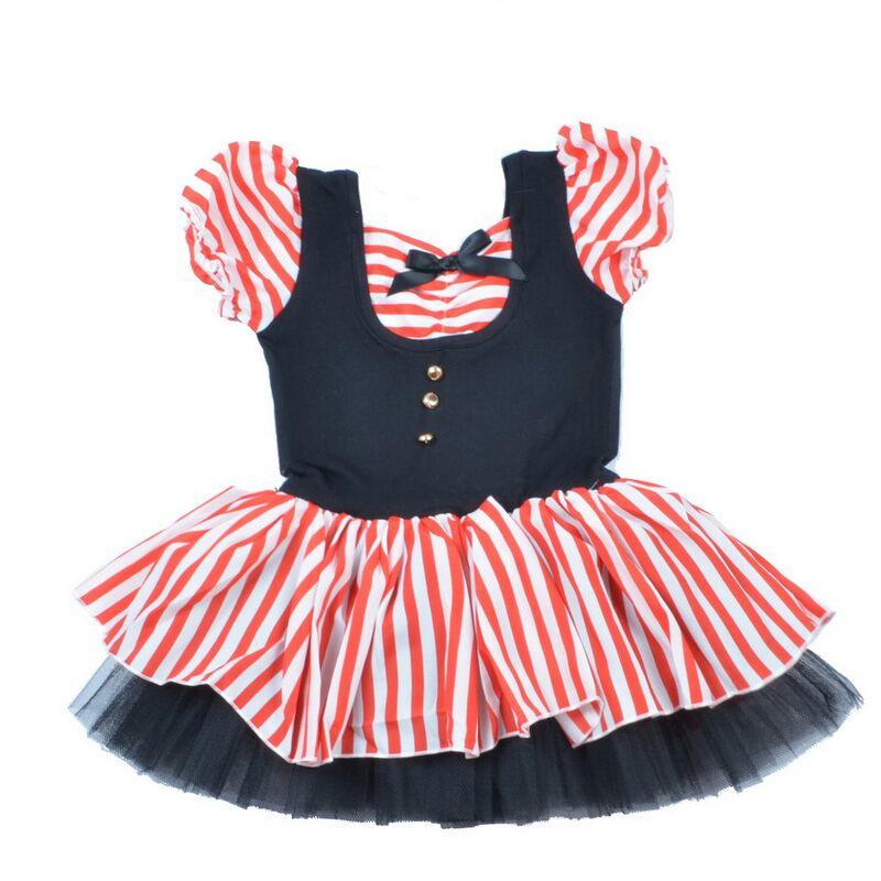 833090c8 ③BAOHULU Moda Czerwone paski jednolite Dzieci Dziewczyny odzież ...