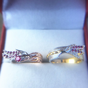 Image 4 - LoL Rakan And Xayah Couple Rings for women men ring sliver S925 jewelry gifts for girls girlfriend boyfriend lovers present