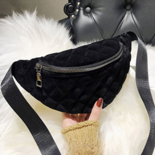 2019 Funny Packs For Women Faux Fur Waist Bags Lady Winter Belt Bag Unisex Small Chest Bags Plush Bag Dropshipping