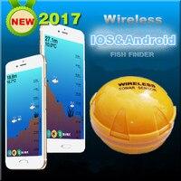 Mobile téléphone sondeur Sans Fil Sonar Fish Finder Profondeur Mer Lac Poissons Détecter iOS Android App findfish smart sonar sondeur
