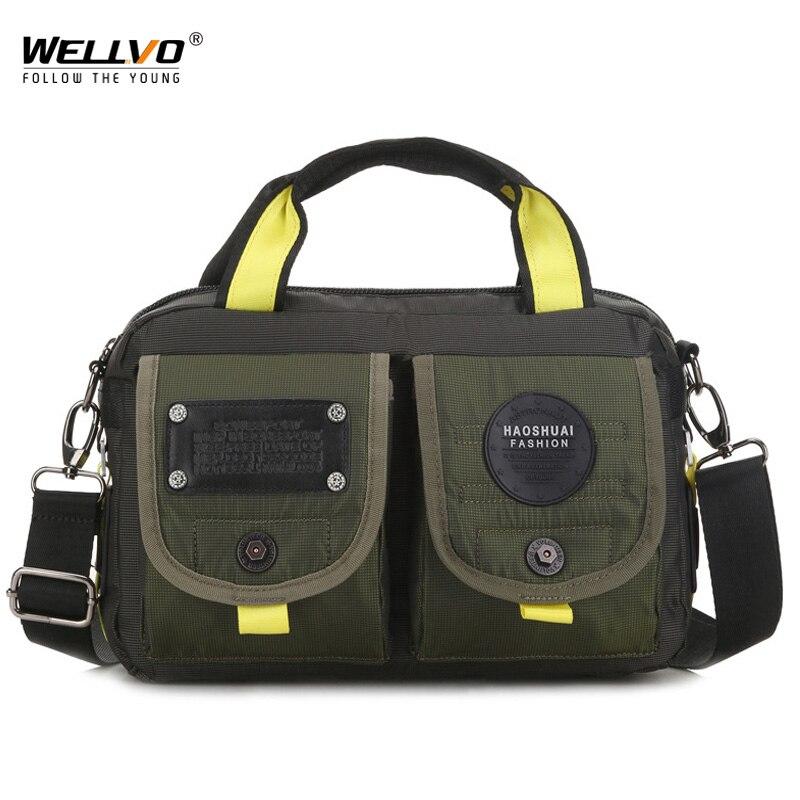 Men Messenger Bag High Quality Waterproof Shoulder Bag Casual Travel Crossbody Bags For Male Satchel Belt Handbag XA81ZC
