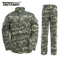 New Army military uniform camouflage Hunting tactical military bdu combat uniform US army men clothing set  ACU  WHFE-005