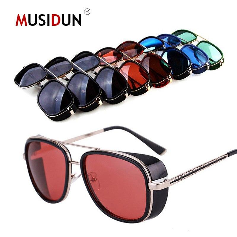 34d73a511ed 3 Matsuda Sunglasses Tony Stark Iron Man Brand Fashion Cat Eye Punk Sun  Glasses Vintage amjune