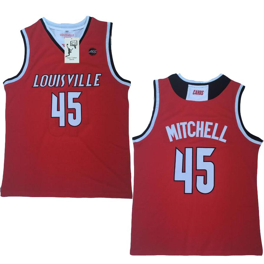 newest 7e93f 2b336 Jazz Vaiten cheap price Donovan Mitchell #45 basketball jersey all size  Embroidery Stitched hot -in Basketball Jerseys from Sports & Entertainment  on ...