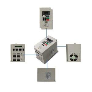 Image 4 - 1500W 1.5KW/2200W 2.2KW 300/400Hz 18000/24000Rpm Luchtkoeling Cnc Spindel Motor + Vfd + 1Set ER11/ER20 Collet Voor Cnc Freesmachine