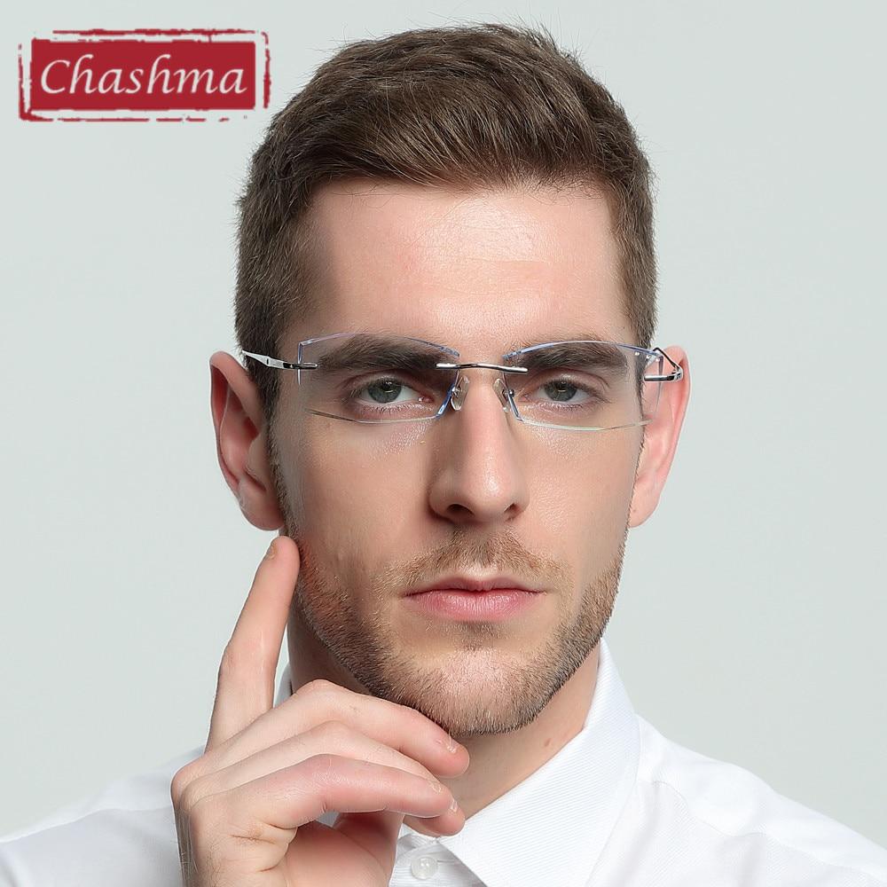 Chashma Brand Pure Titanium Ultra Light Tint Glass Hombres con estilo - Accesorios para la ropa - foto 3