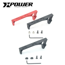 XPOWER Keymod Mlok Hand Stop Grip For AEG Airsoft Accessories Paintball Outdoor
