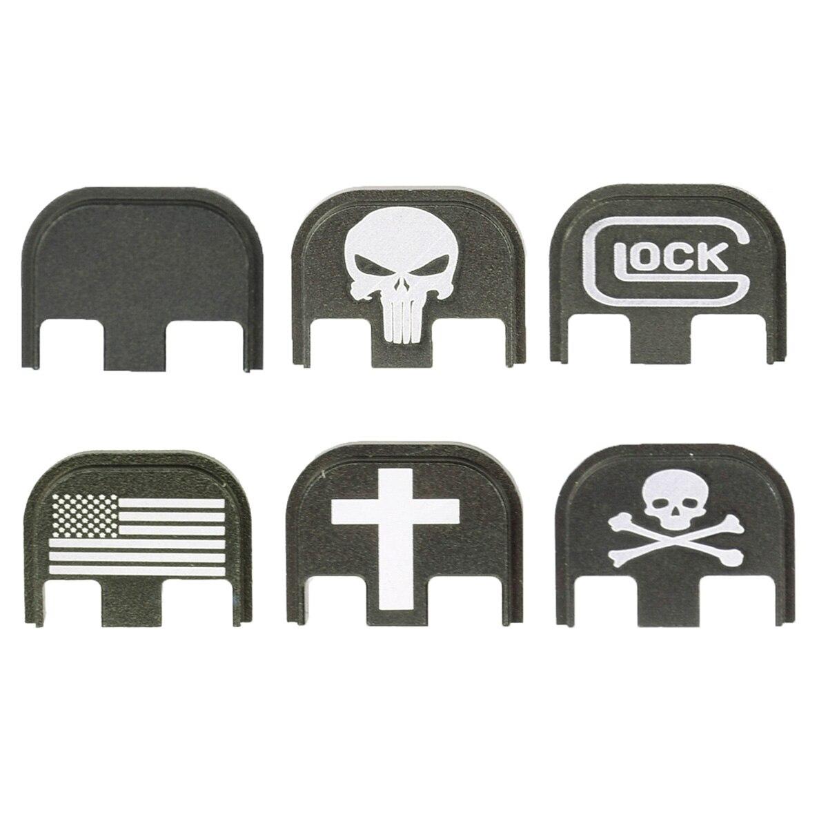 Glock Traseira Corrediça Cover Plate para Glock Gen5 17 19 20 21 22 23 24 25 26 40 41