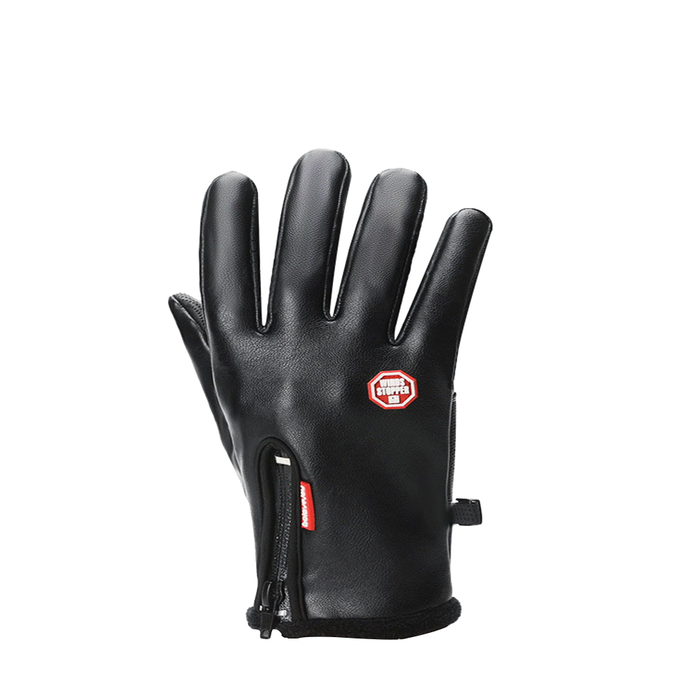 golovejoy Outdoor sports waterproof men and women winter mountaineering cold warmth thick windproof riding protective gloves fitness protective glove hand palm barbell basketball sports men and women riding