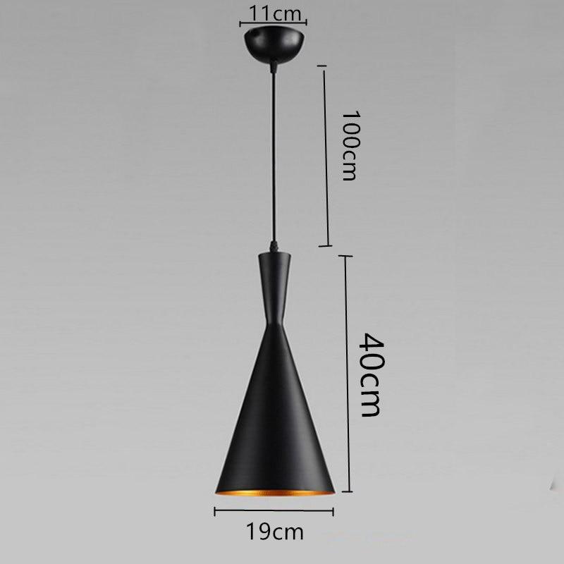 თანამედროვე LED გულსაკიდი - შიდა განათება - ფოტო 3