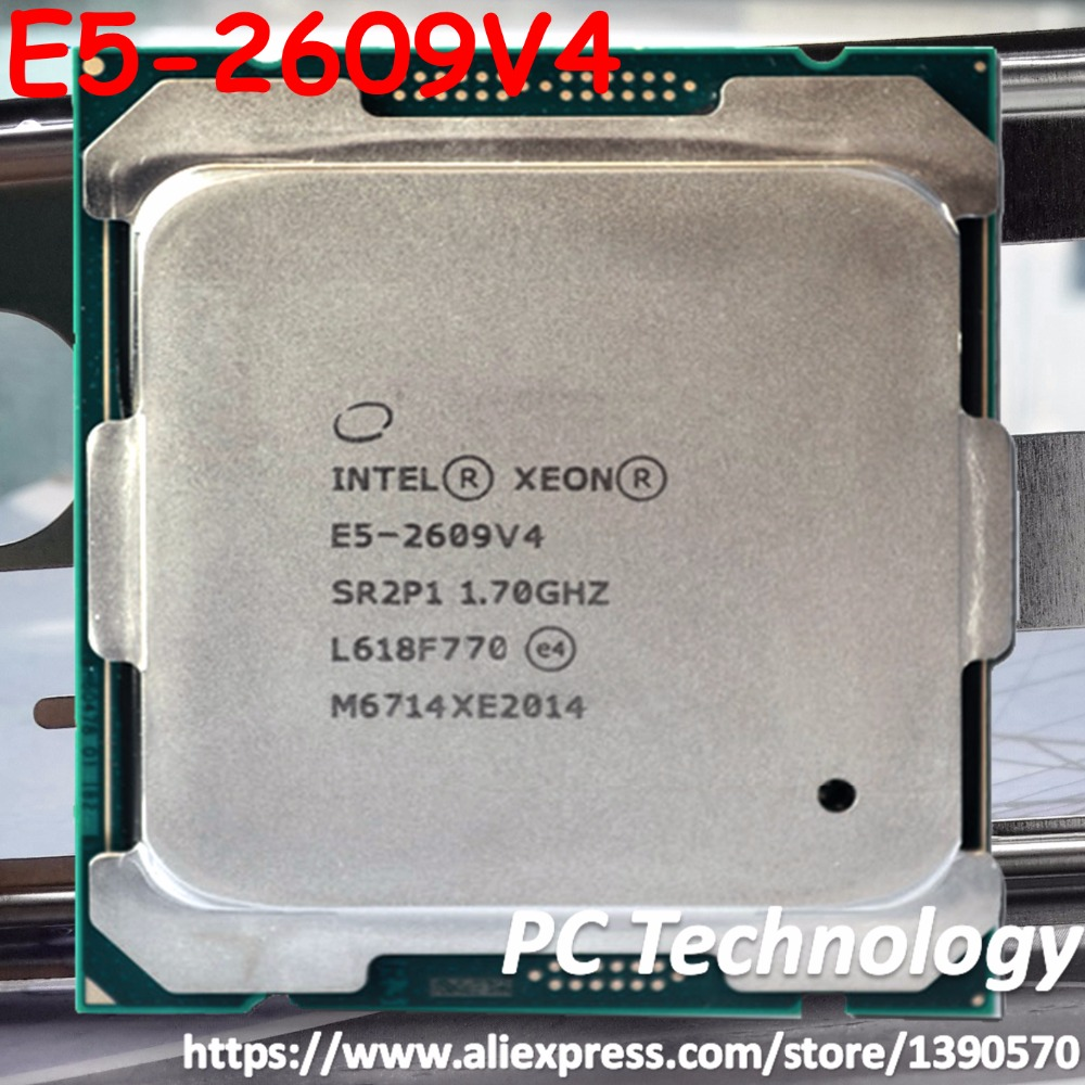 Original Intel Xeon processor E5 2609V4 1 70GHZ 8Core 20MB SmartCache LGA2011 3 E5 2609 V4