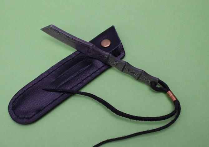 Buy Collection Small Hunting Knife,Damascus Fixed Knives,Survival Rescue Knife. cheap