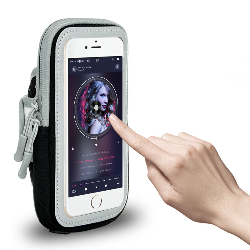 Sports Running Armband Universal Waterproof Mobile Phones Phone Arm Band Brassard Telephone Holder Arm Cases Pouch For iphone X