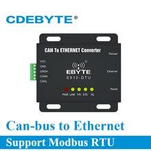 E810 DTU (CAN ETH) Ethernet Giao Diện Có Thể Xe Buýt Hai Chiều Trong Suốt Truyền Modem Không Dây