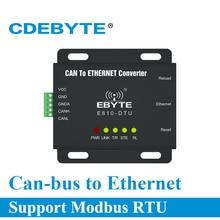 E810 DTU(CAN ETH) Interfaz Ethernet CAN Bus MÓDEM INALÁMBRICO de transmisión transparente bidireccional