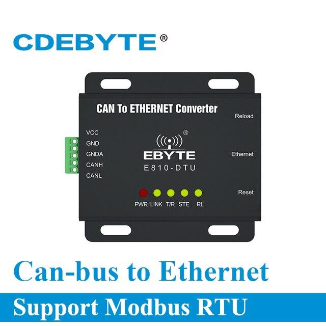 E810 DTU (CAN ETH) a relação ethernet pode barrar modem sem fio de transmissão transparente em dois sentidos