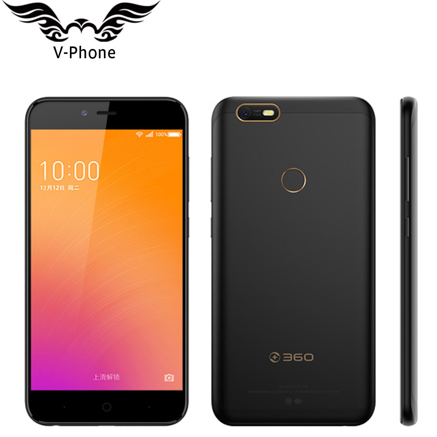 New Original 360 N6 Lite Snapdragon 630 Octa Core 4GB RAM 32GB ROM 5.5 inch 1920*1080 4G LTE Dual SIM Fingerprint Mobile Phone