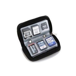 Image 4 - SD SDHC MMC CF Micro SD Memory Card Storage Carrying Pouch Case Holder Wallet
