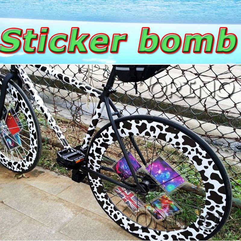 Compare Prices On Stickerbomb Vinyl Wrap Online ShoppingBuy Low - Vinyl bike wrap