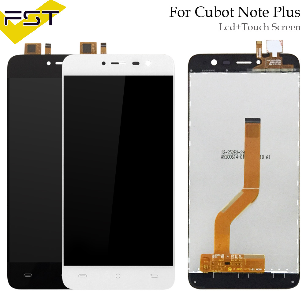 5.2 Inch For Cubot Note Plus LCD Display+Touch Screen Digitizer Assembly For Note Plus LCD Glass Panel Spare Parts+Tools