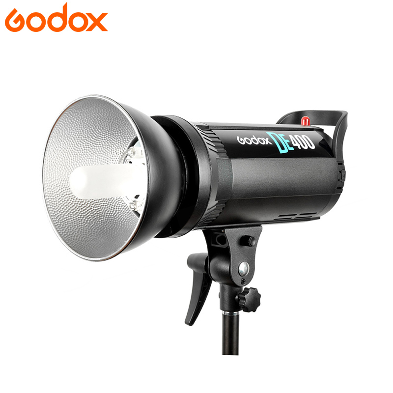 Godox DE400 Photography Video Studio Flash Light 400W GN65 Compact Strobe Lighting Lamp Head 400Ws