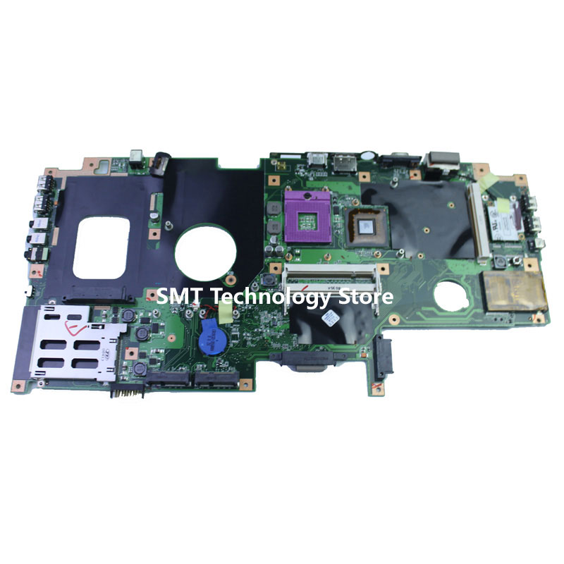 For ASUS M70VN X71VN M70VM Laptop Motherboard M70V REV:2.2 08G2A00MV22Q MAINBOARD , fully tested package good