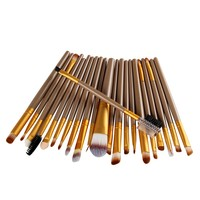 Brand New Hot Selling High Quality 22Pcs/Set Pro Makeup Brush Tools Makeup Toiletry Kit Wool Make Up Brush Set Wholesale Retail