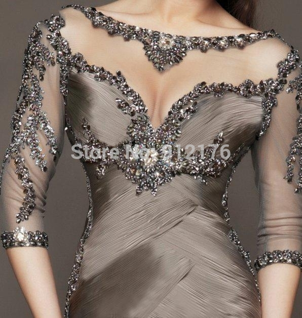 269008bd752 Designer Long Evening Dresses Petite Dress Vintage Wedding Guests Prom  Trumpet  Mermaid Floor Length Built In Bra B 2015 On Sale-in Evening Dresses  from ...