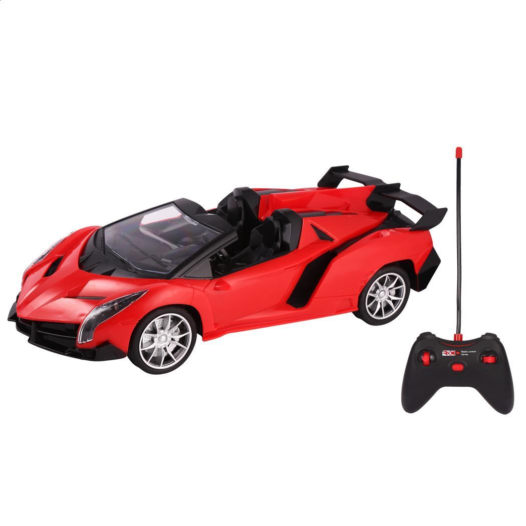 MHz RC Cars Remote Controlled Car 1:10 Scale 27.145 Remote Controller RC Car For Child