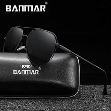 BANMAR Polarized Sunglasses For Men Brand New Driving Luxury Cool Coating Mirror Sun Glasses Male Female Women