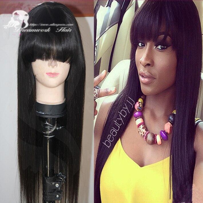 Afro américaine Celebrity perruques avec