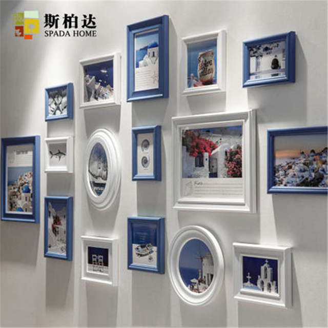 High Quality Multi Photo Frames Wall Wooden Photo Frame Photo