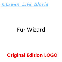 Original Edition Logo Fur Wizard Reusable Self-Cleaning Pet Fur Brush Set Double-Sided Fur Scrub Pet Brush Pet