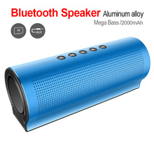 New Portable Outdoor Mini Column Box Loudspeaker Speaker Design For Phone Wireless Best Bluetooth Waterproof