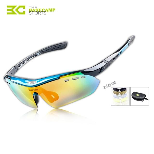 19566095dfb Basecamp 5 Lens Polarized Cycling Glasses MTB 2017 Cycling Eyes Men Glasses  Goggles BC-102